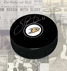 Saku-Koivu-Anaheim-Ducks-Autographed-Puck
