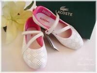 100% Auth Lacoste Girls Nima Mary Jane Shoes Sz13-1