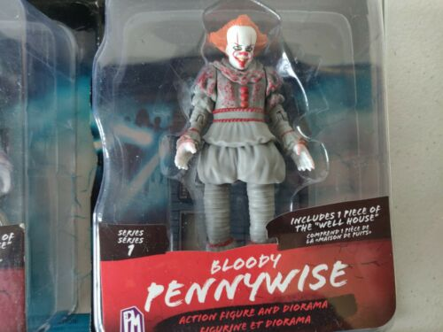It Chapter 2  Pennywise  Horror Figures Complete Set Of 4 Series One Brand New