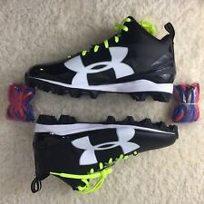 78a23ccf2937 item 8 Under Armour Crusher RM Football Cleats Size 12 US Black White  1286600-001 New -Under Armour Crusher RM Football Cleats Size 12 US Black  White ...