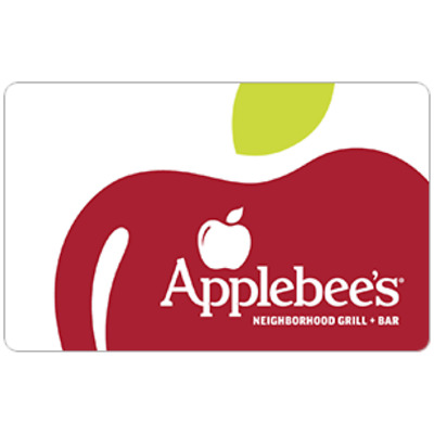 Applebee's Gift Card - $25 $50 $100 - Email delivery