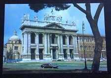 POSTCARD: ROMA: ST. JOHN LATERAN: BASILICA: UN POSTED