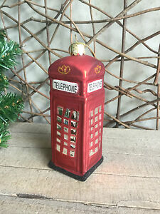 Heaven-Sends-glass-vintage-red-telephone-box-Christmas-tree-decoration-boxed