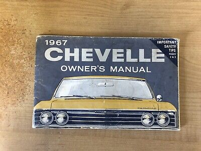 1969 Chevrolet Corvair Owners Manual User Guide Reference Operator ...