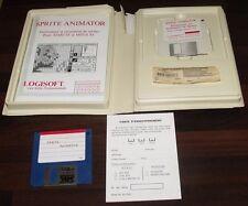 LOGICIEL SPRITE ANIMATOR, LOGISOFT, ATARI ST et MEGA ST, époque AMSTRAD CPC 6128