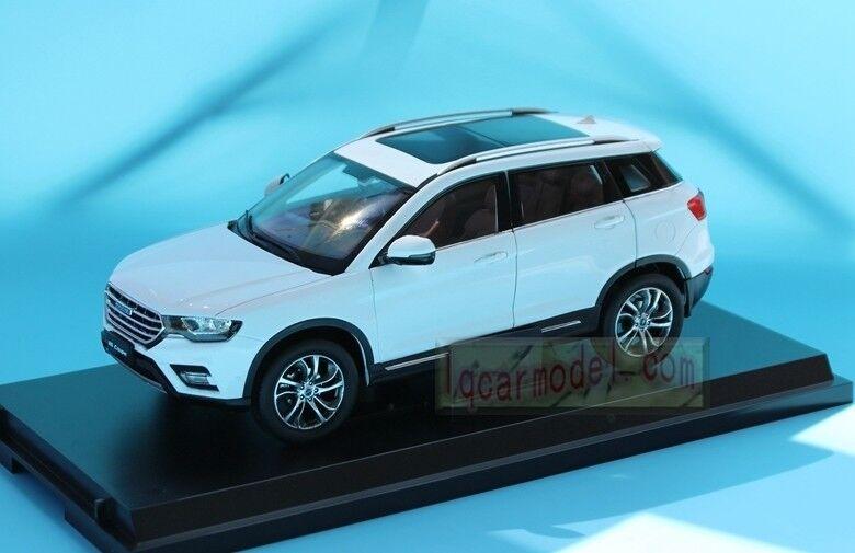 i nuovi marchi outlet online 1 18 Cina Great Wtutti Haval Haval Haval H6 COUPE SUV bianco modellolo Diecast  risparmia fino al 70% di sconto