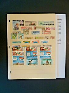 """Worldwide Lot of 38 Stamps in Stock Page - """"L"""" Countries - See Description"""