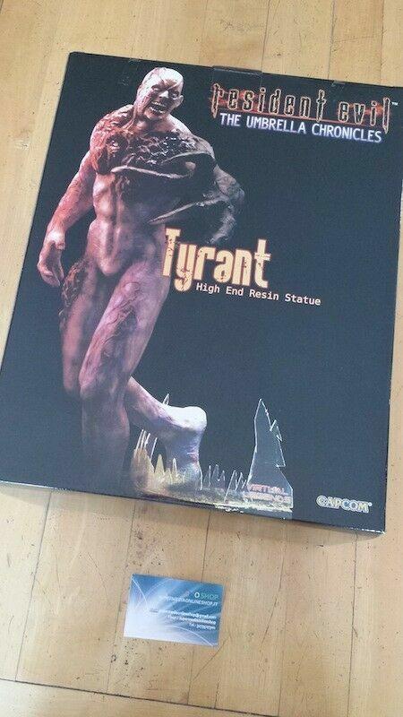 RESIDENT EVIL BIOHAZARD TYRANT NEW LIMITED 1500 PCS Virtual Legend STATUE 35CM