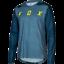 Fox Racing 2018 Indicateur à manches longues L//S Mash Camo Jersey Blue Steel