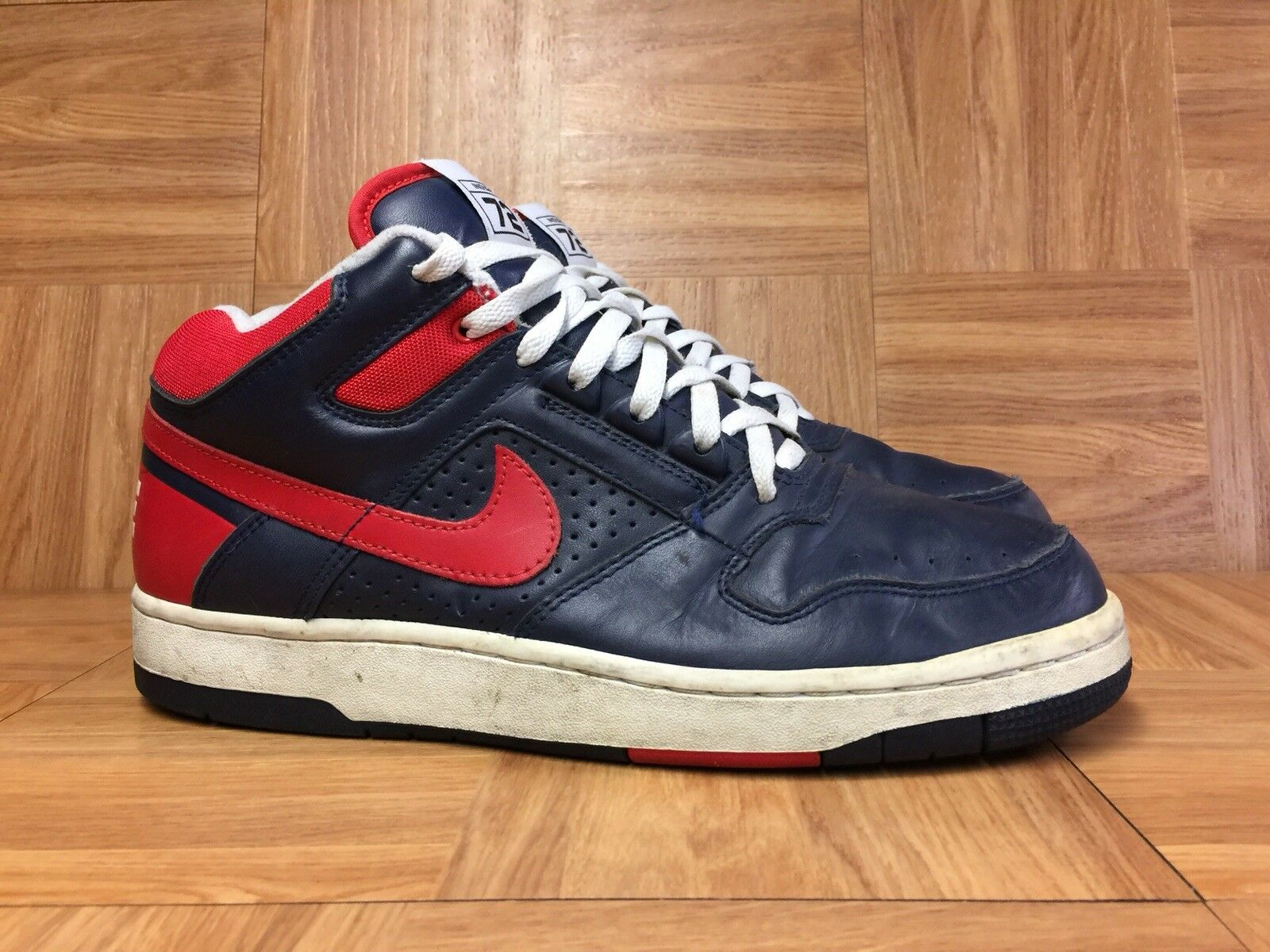 RARE Nike Air Delta Force 3 3 3 4 Rewind Indiana Pacers Obsidian 10.5 307723-461 1469dd