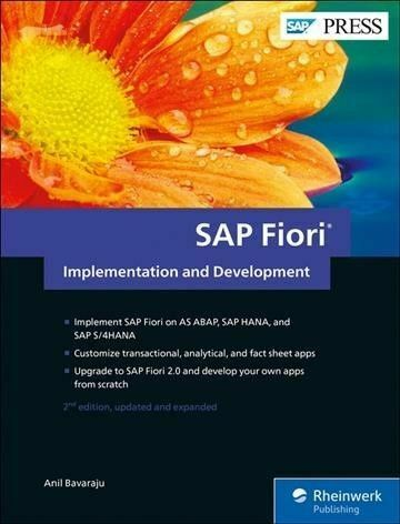 Fiori 2017.Sap Fiori Implementation And Development By Anil Bavaraju 2017