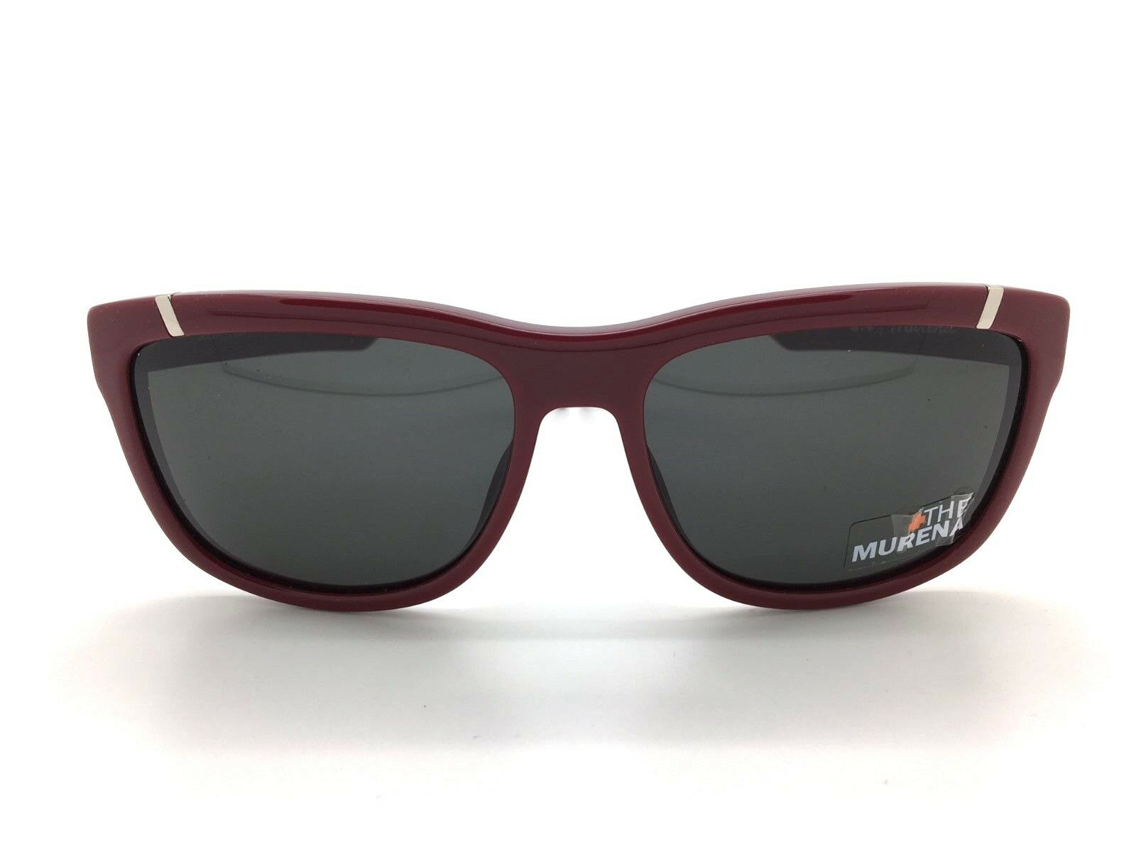 SPY+ Optic Murena Sunglasses 671012154129 Burgundy Frame with  Grey Lens  team promotions