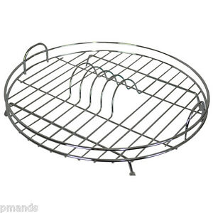 Delfinware-Chrome-Plated-Wire-Circular-Dish-Drainer-New-Draining-Plate-Rack