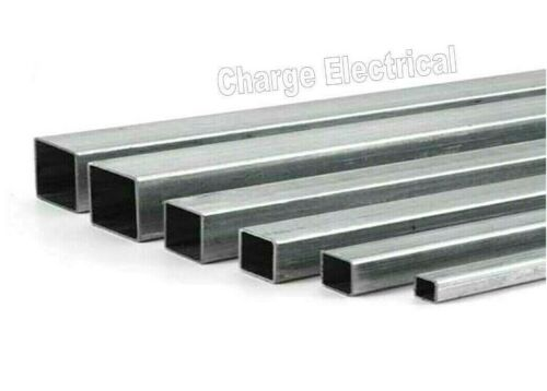 6082-T6.. Tube 12 Sizes Hollow 300mm Lengths Aluminium Square box section