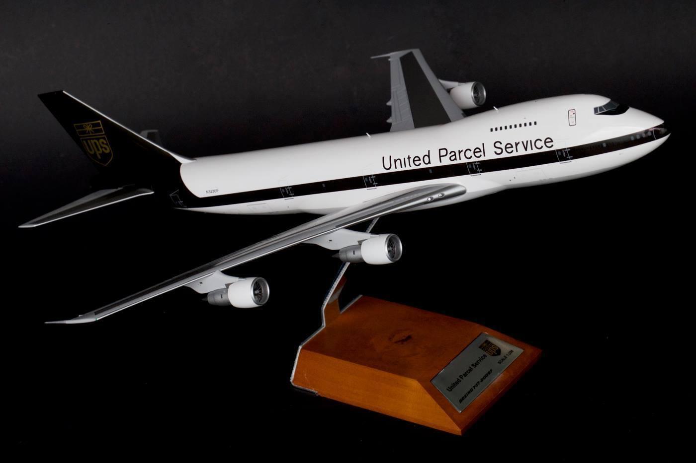 Jc Ailes Jc2132 1 200 Ups Boeing 747-200f N523up Ltd Edn 120 Pièces