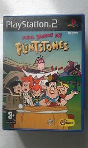 PS2-SONY-PLAYSTATION-2-CORSA-BEDROCK-DEI-FLINTSTONES-SEALED