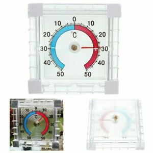 Image Is Loading Self Adhesive Window Wall Temperature Thermometer Indoor Outdoor