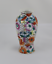 縮圖 1 - VINTAGE Florero de porcelana con decoracion Floral.   Años 80