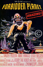 Vintage Science Fiction Movie 11x17 Poster Forbidden Planet