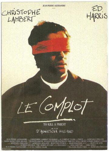 Le Complot Postcard /' NUGERON E 493 CPM