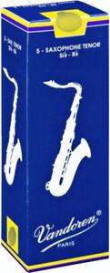 Reed-del-sassofono-Tenore-Sib-Bb-Vandoren-classique-scatola-di-5-ance