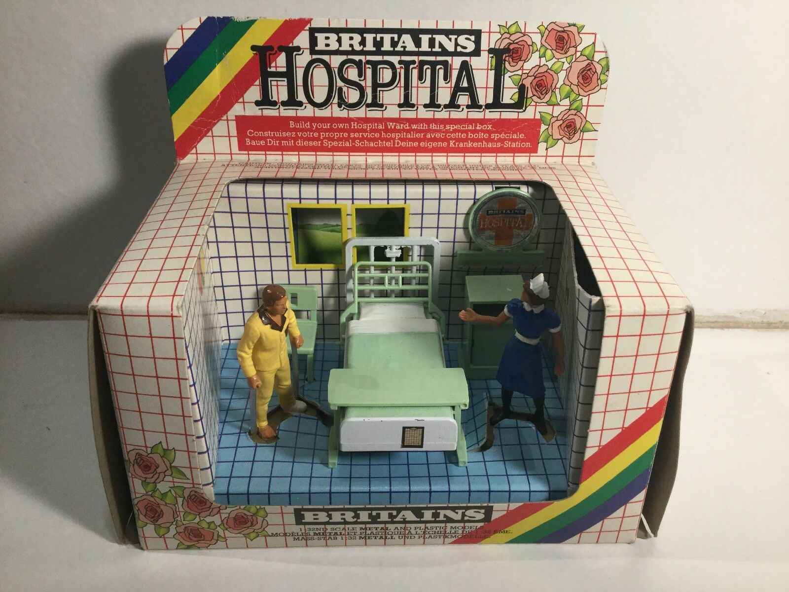Vintage 1980 1980 1980 Britains Hospital 7854 Nursing Sister And Patient Call The Midwife 0691fe