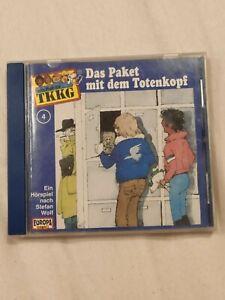 TKKG - Folge 4 Das Paket mit dem Totenkopf - alte Auflage - Teningen, Deutschland - TKKG - Folge 4 Das Paket mit dem Totenkopf - alte Auflage - Teningen, Deutschland
