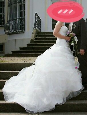 Kleidung & Accessoires 36/38 Starke Verpackung Hochzeit & Besondere Anlässe Brautkleid Sincerity Bridal Gr