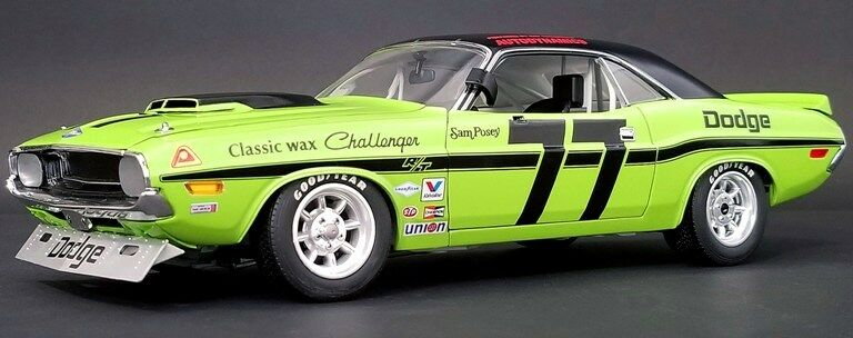 1970 Dodge Challenger Grün Sam Posey  77 1806001