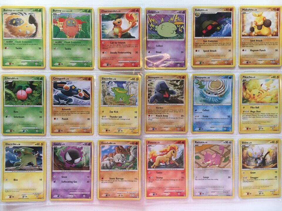 Samlekort, Sjældne Pokémon Kort - Platinum: Arceus