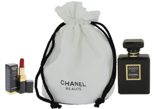 0c6eb2cf33 Details about Coco Noir By Chanel-EDP/SPR-1.7oz/50ml+Lip Color-Brand New In  Pouch-3Pc Gift Set