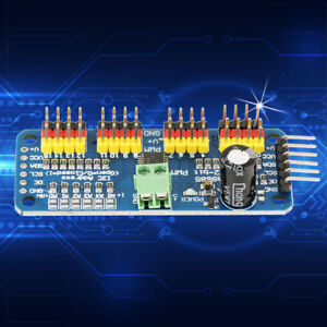 Details about PCA9685 16-channel PWM Servo Motor Driver IIC Controller  Module for SG90 MG995