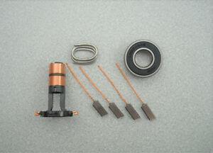 ARK107-NEW-REPAIR-KIT-FOR-VALEO-ALTERNATOR-Bearing-NSK-6202-Brushes-Slip-rings