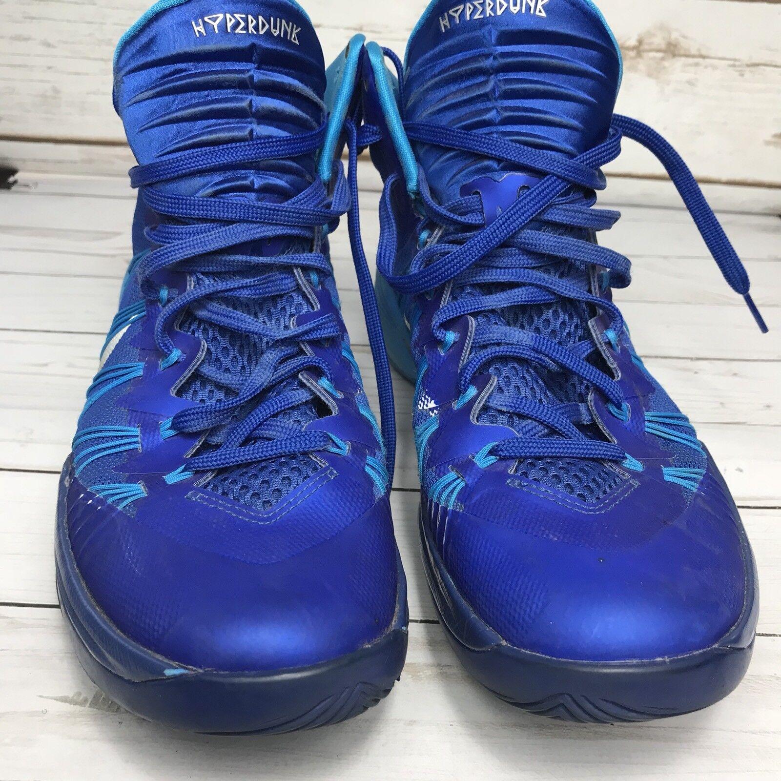 Nike Hyperdunk 2018 Men Basketball Shoes 584433-402 Blue High Top Sneaker Sz 9.5