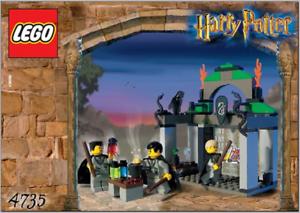 Lego 4735-Harry Potter-Slytherin - 2002-Sin Caja
