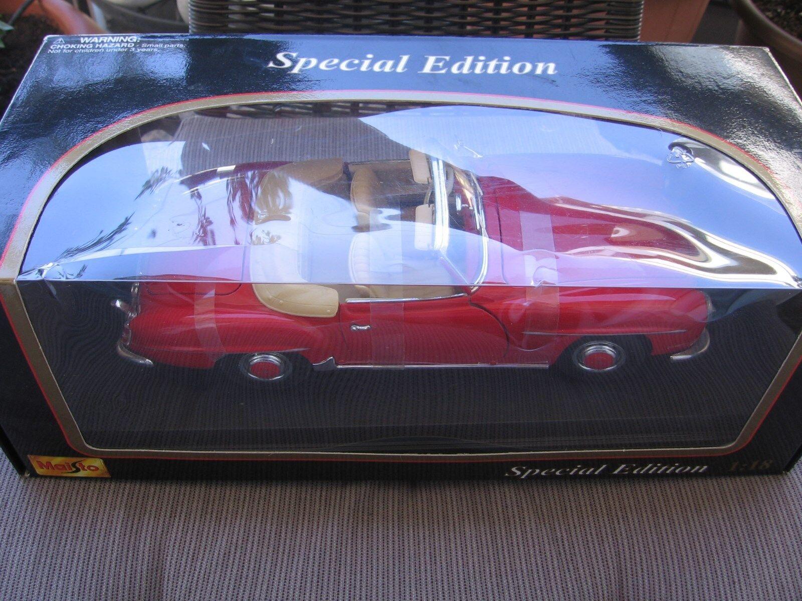 mas preferencial Mercedes-benz 190sl 1955 rojo roadster 1 18 maisto OVP & & & New   orden ahora disfrutar de gran descuento