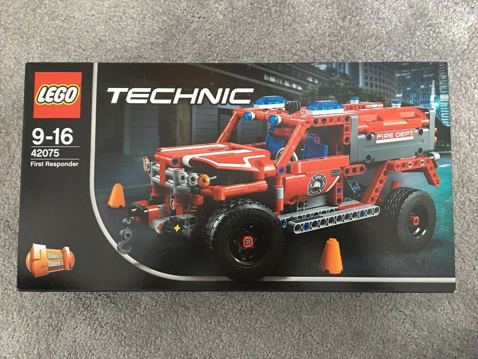 LEGO Technic 42075  First Responder Advanced Building Set Brand New