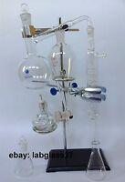 Essential oil steam distillation apparatus kit