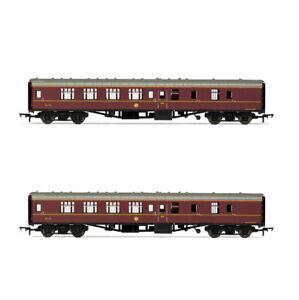 HORNBY-Set-of-2-Coaches-Harry-Potter-Hogwarts-Mk1-BSK-Nos-99723-99716