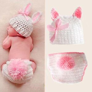 newborn boys girls cute crochet knit costume baby photo photography