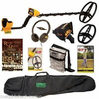Garrett Ace 350 Metal Detector Package, With Headphones, Coil Cover, Plus More