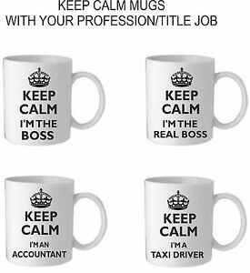 KEEP-CALM-I-039-M-A-PRINTED-MUG-CUP-JOB-PROFESSION-CHRISTMAS-BIRTHDAY-PRESENT