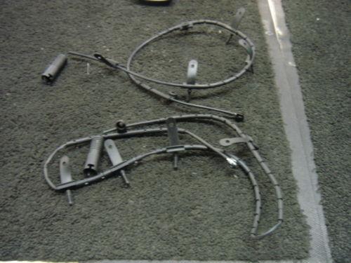 BMW Mini One Cooper S Anteriore Freno Posteriore PAD avvertenza wire