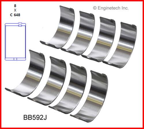 Engine Connecting Rod Bearing Set ENGINETECH BB592JSTD INC