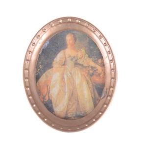 1-12-Resin-Frame-Lady-Mural-Wall-Painting-Dollhouse-Miniature-Furniture-decor-qd