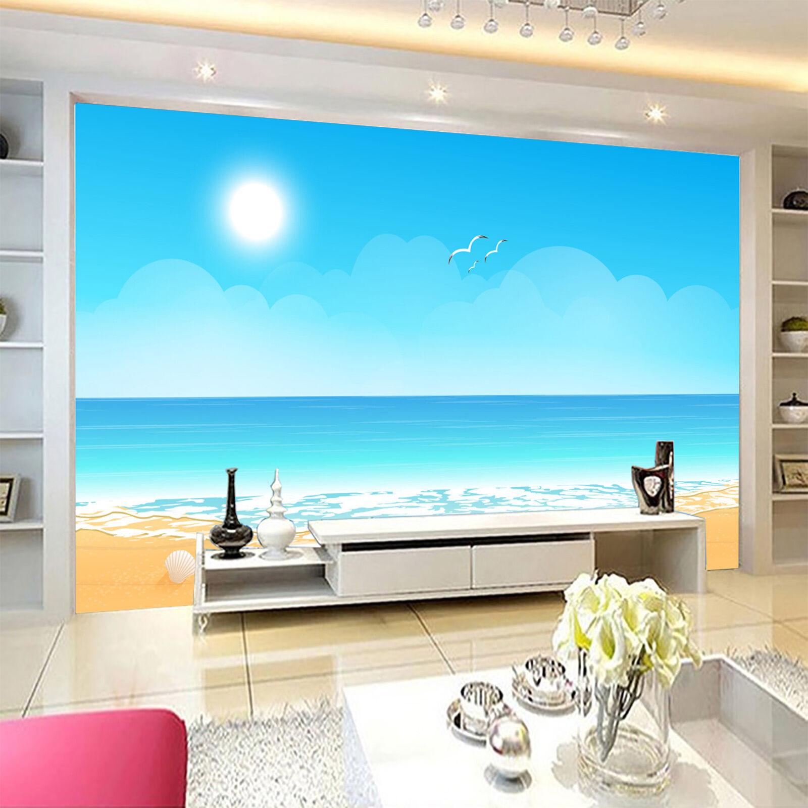 3D Hell Sonne 453 Fototapeten Wandbild Fototapete Bild Tapete Familie Kinder DE