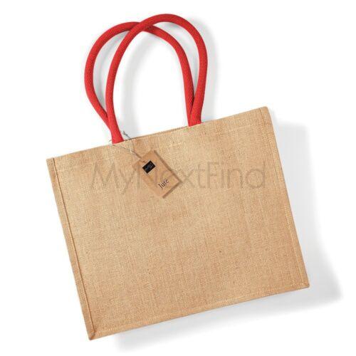 Westford Mill Jute Classic Shopper Bag