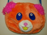 Orange Fuzzy Bear Purse From Hot Topic Pink Ears Anime Cosplay Costume