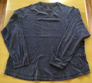 Ascend-Mens-Blue-Xtra-Large-Long-Sleeve-Hiking-Shirt-EUC