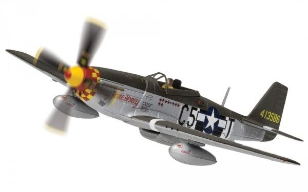 North American p-51d Mustang 44-13586 c5-t (Hurry Home Honey), LE CAPITAINE RICHARD A (